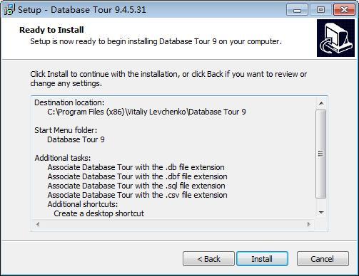 Database Tour Pro