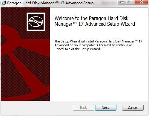 Paragon Hard Disk Manager Advanced